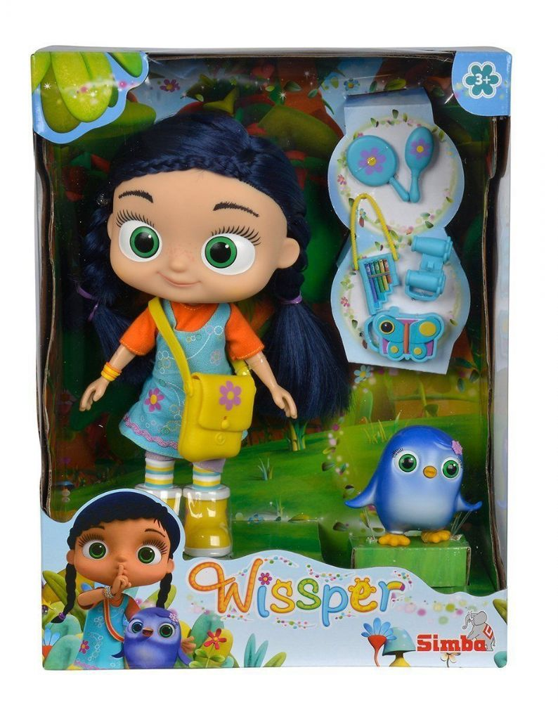 "Wissper 8.5"" Doll  and Peggy figure"